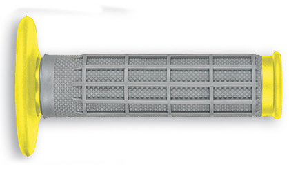 UfoESCAPE enduro-cross grips Grey-Yellow RM 01-12