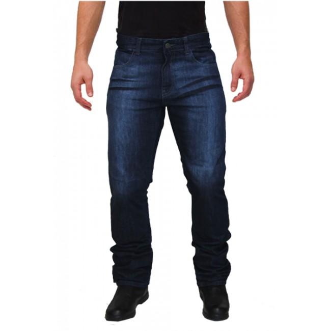 Jeans moto Madif con protezioni alle ginocchia