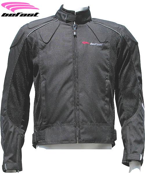Befast Zero lady summer motorcycle jacket black