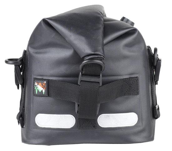 Waterproof bag motorcycle Amphibious Upbag Black
