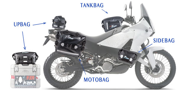 Amphibious Tank Bag Waterproof Tankbag Desert
