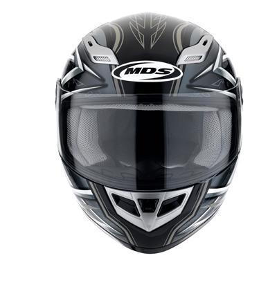 MDS by AGV Sprinter Multi Heritage Full Face Helmet - Col. Bla