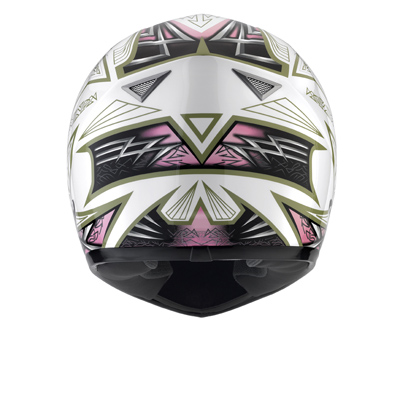 Casco Mds by Agv Sprinter Multi Heritage bianco-rosa