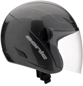 MDS by AGV Sonic Mono Open Face Helmet - Col. Gunmetal