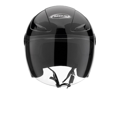 MDS by AGV Sonic Mono Open Face Helmet - Col. Gloss Black