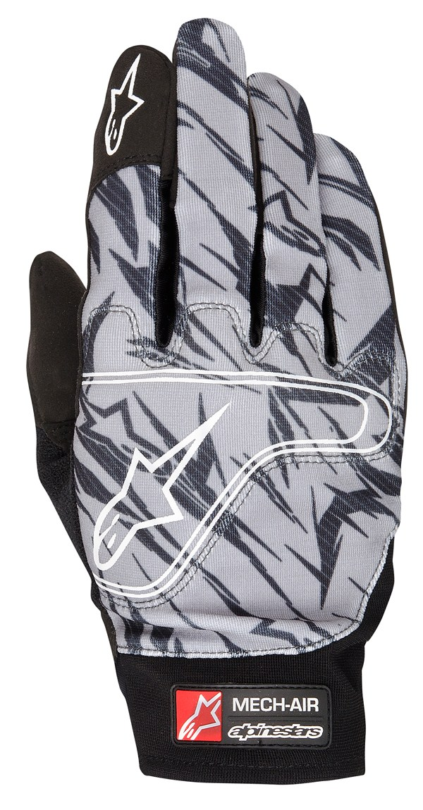 Alpinestars Mech Air gloves cool gray black