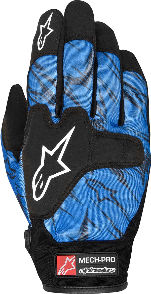 Alpinestars Mech Pro gloves blue black