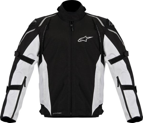 Giacca moto Alpinestars Megaton DS nero-bianco