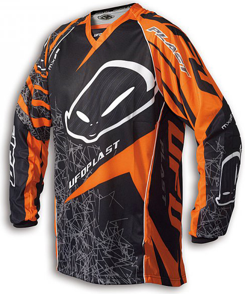 Ufo Plast MX-22 enduro jersey orange