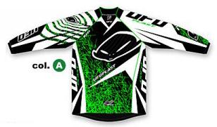 Ufo Plast Mx-22 kid jersey green