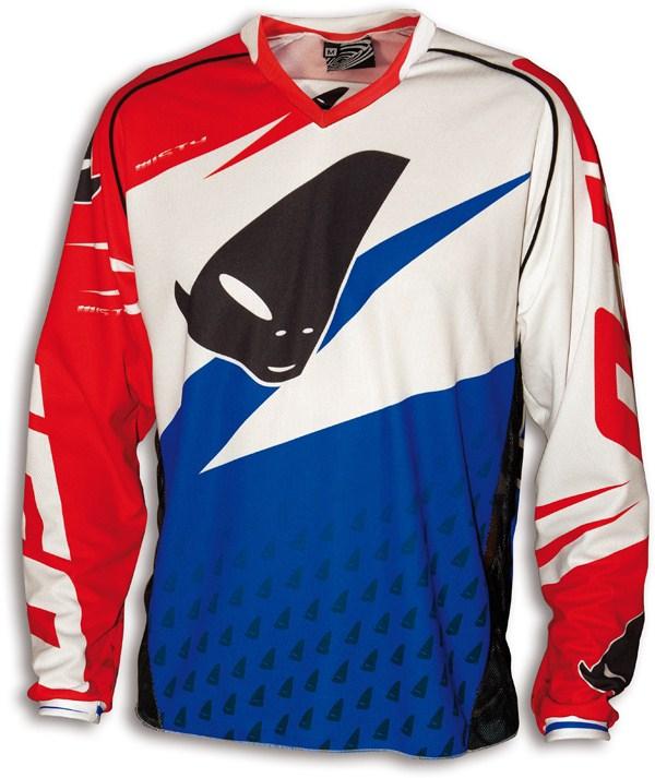 Jersey cross Ufo Misty Blue White Red