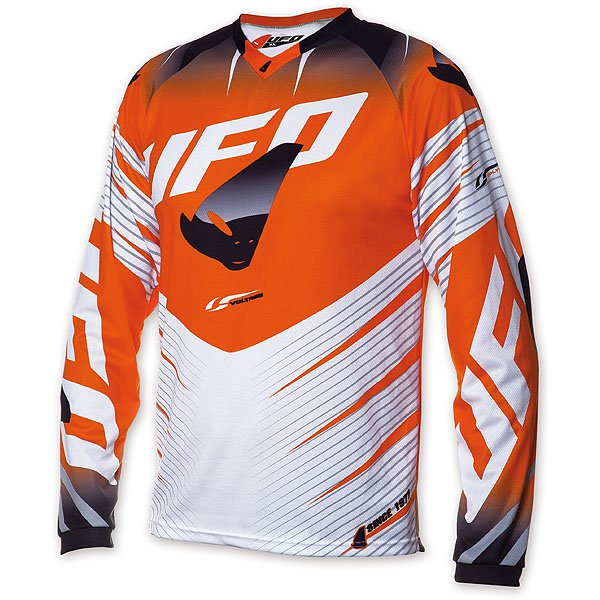 Ufo Plast Voltage cross jersey Orange White