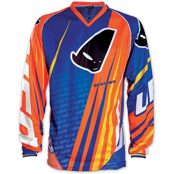 Ufo Plast Century cross jersey Blue Orange