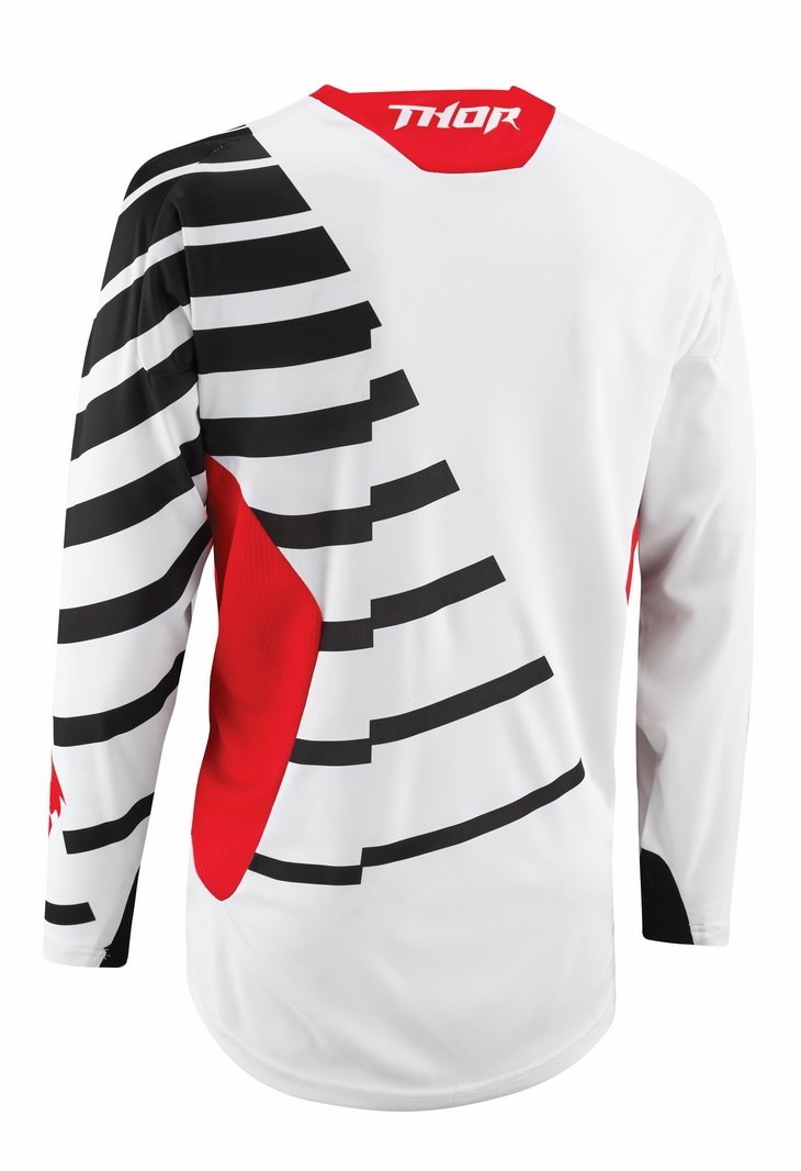 Thor Core Orbit jersey black red