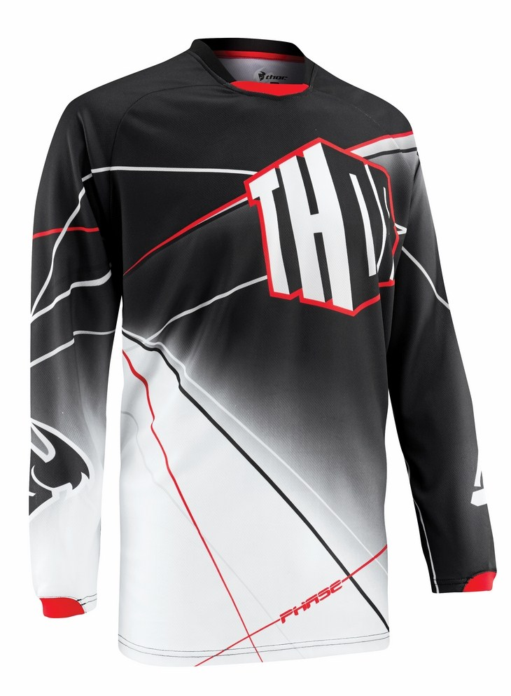 Thor Phase Prism jersey black