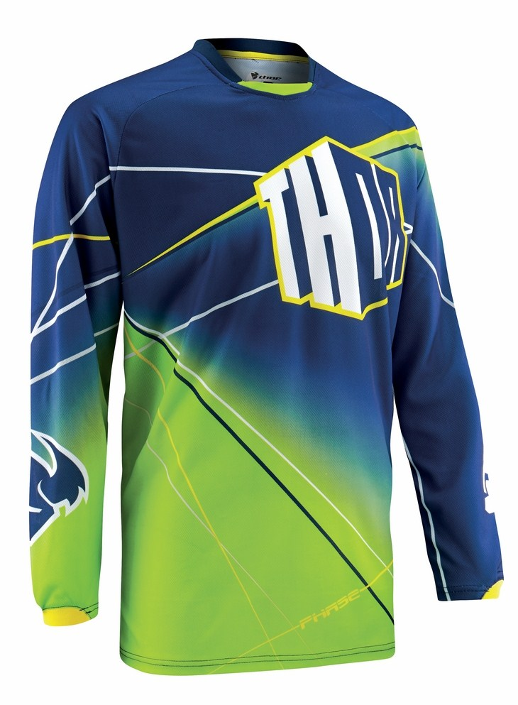 Thor Phase Prism jersey blue