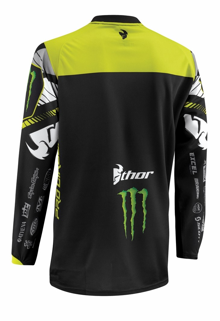 Thor Phase Pro Corcuit jersey black