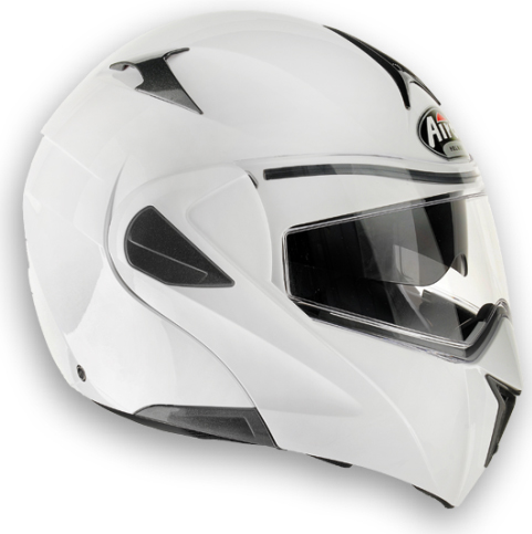 AIROH Mirò XRP Color open-face helmet white gloss