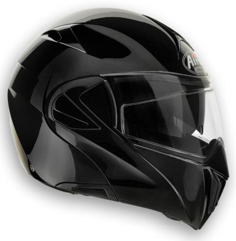 Casco moto Airoh Mirò XRP Color nero lucido doppia omologazione