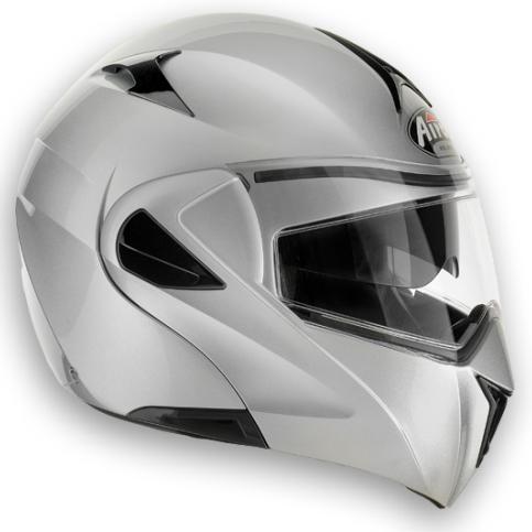 AIROH Mirò XRP Color open-face helmet silver metal