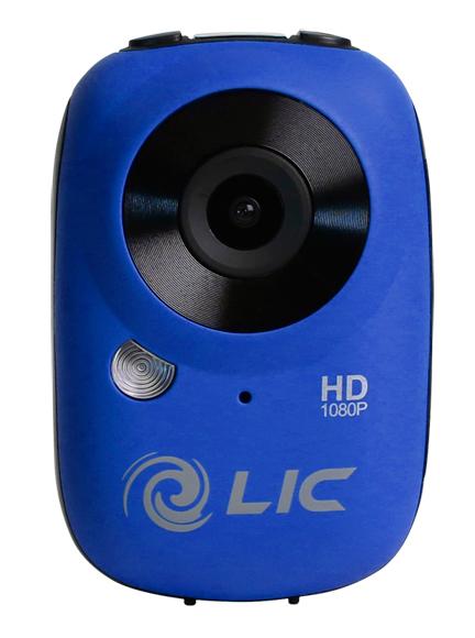 Full HD Mini Camera Liquid Image Ego Blue