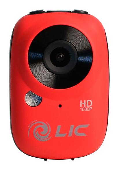 Full HD Mini Camera Liquid Image Ego Red