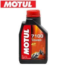 Flacone olio Motul 7100 10w60 4T 1lt