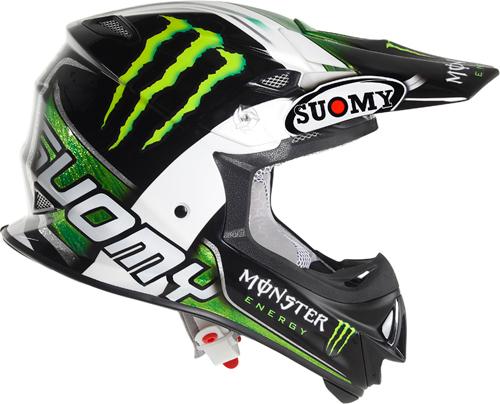 Casco moto cross Suomy MR Jump Monster Energy