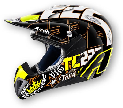 Casco moto cross bambino Airoh Mr Cross TC14
