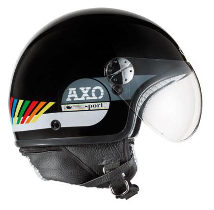 jet helmet AXO Subway Multicolor