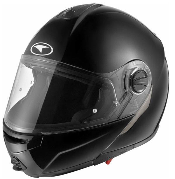 Modular helmet with goggles sun AXO Modus Black