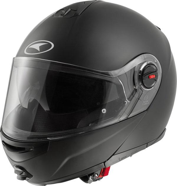 Modular helmet with goggles sun AXO Modus Matte Black