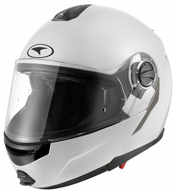 Modular helmet with goggles sun AXO Modus White