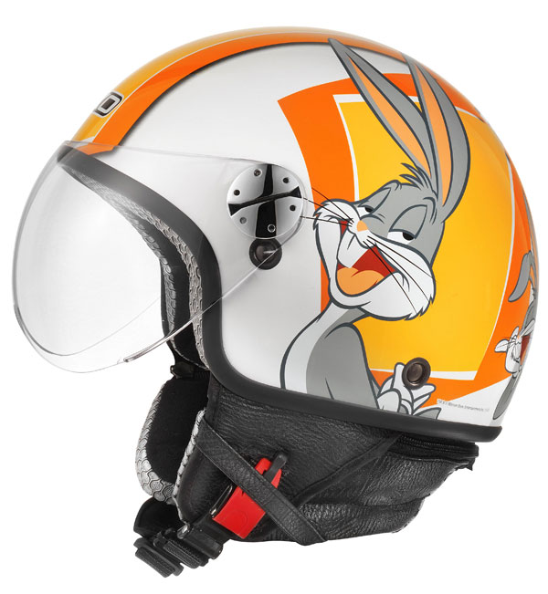 Jet Helmet AXO Subway Warner Bugs Bunny Orange