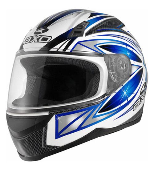 Full face helmet AXO Blue Cosmos