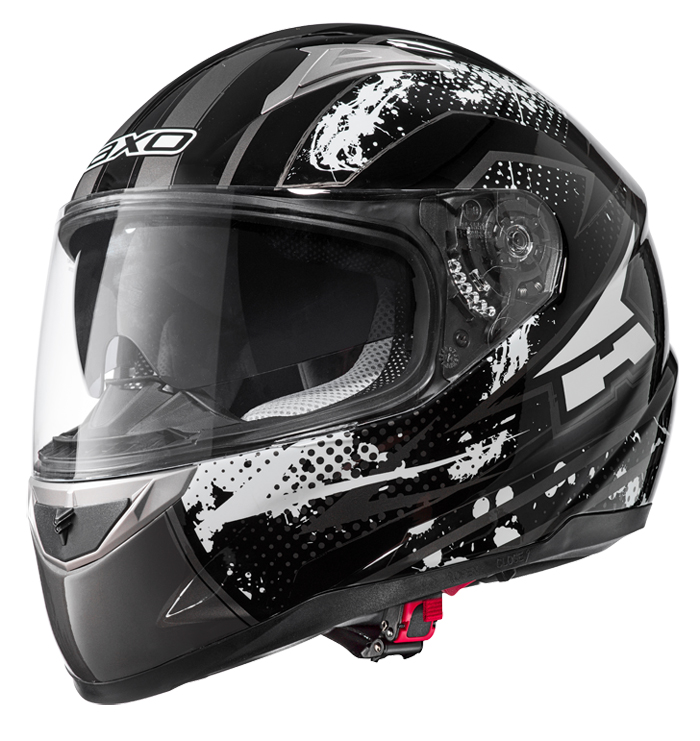 AXO ST3 full face helmet Black White