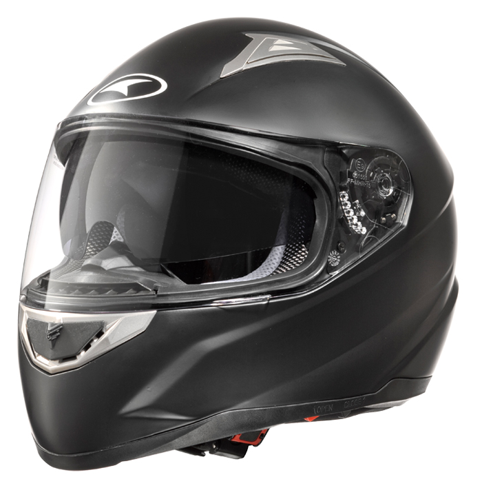 AXO Velvet full face helmet matt Black
