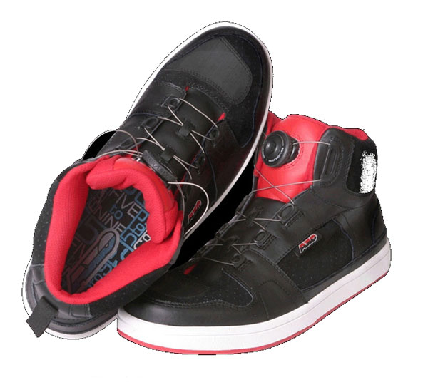 Shoes AXO motorcycle 5T09 Red Black