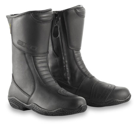 Funny woman AXO Motorcycle Boots Black