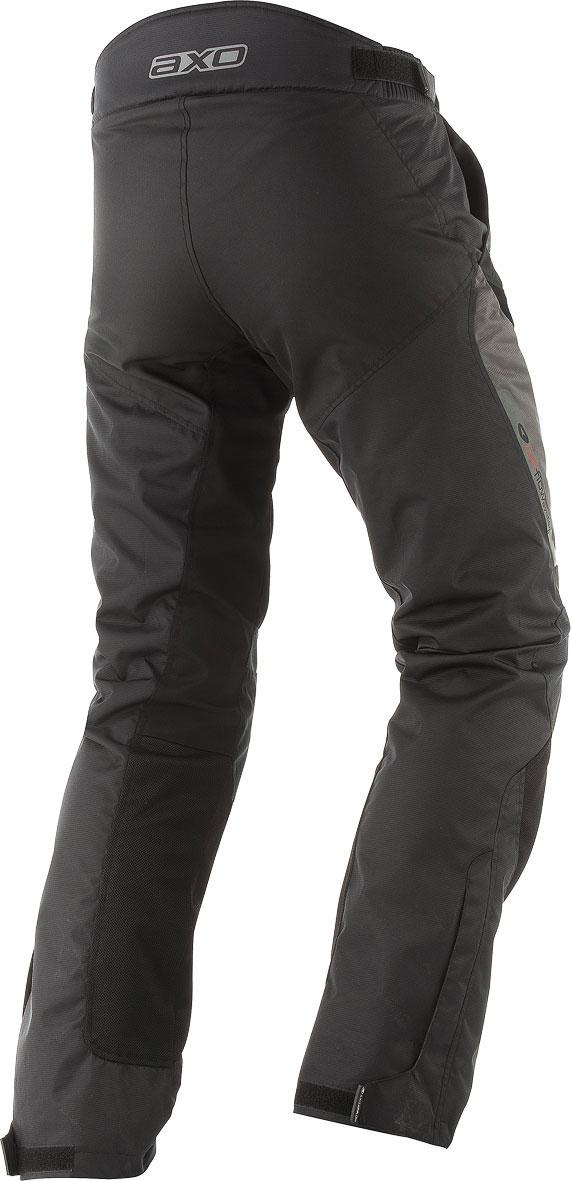 Motorbike Leather Gloves AXO KR11 Black