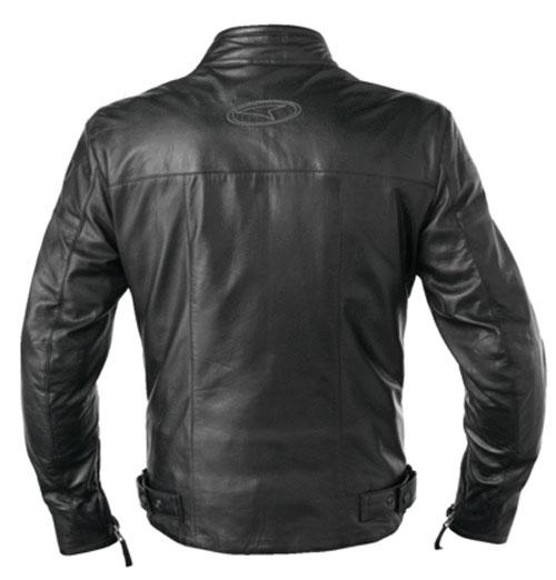 AXO leather motorcycle jacket Black Brando