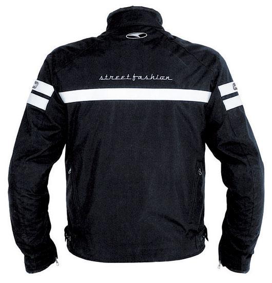 AXO motorcycle jacket street fashion Pro Black White