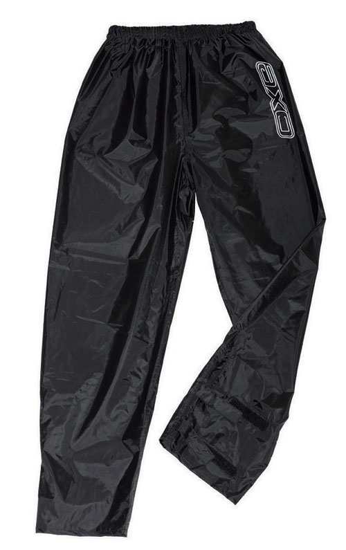 Pantaloni antipioggia AXO Oxford Nero