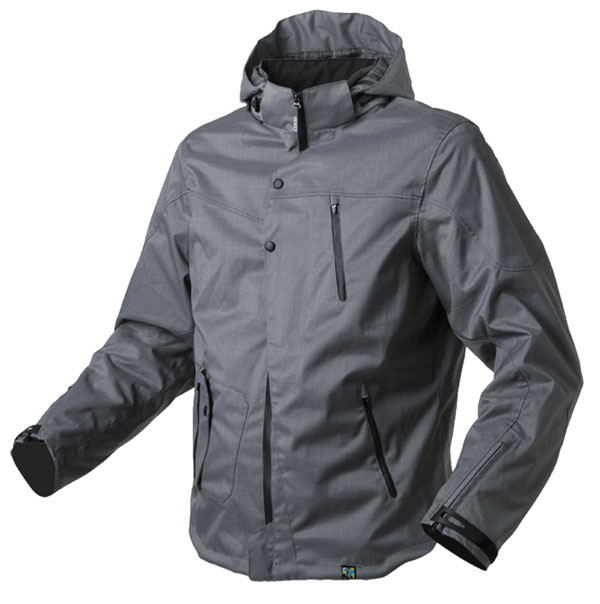 AXO motorcycle jacket waterproof Jericho Dark Grey