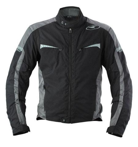 Waterproof motorcycle jacket AXO Striker Black