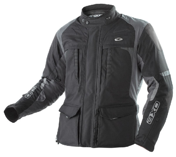 AXO motorcycle jacket waterproof Voyager Black