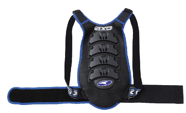 AXO child back protector level 2 Black Blue