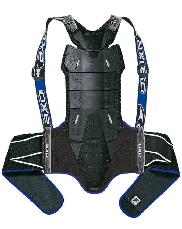 AXO Race Shell Back Protector Black Blue