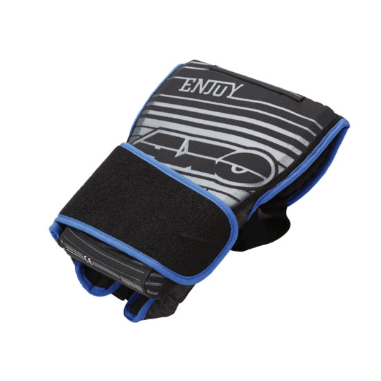 Folding back protector AXO Threelogy Black Blue