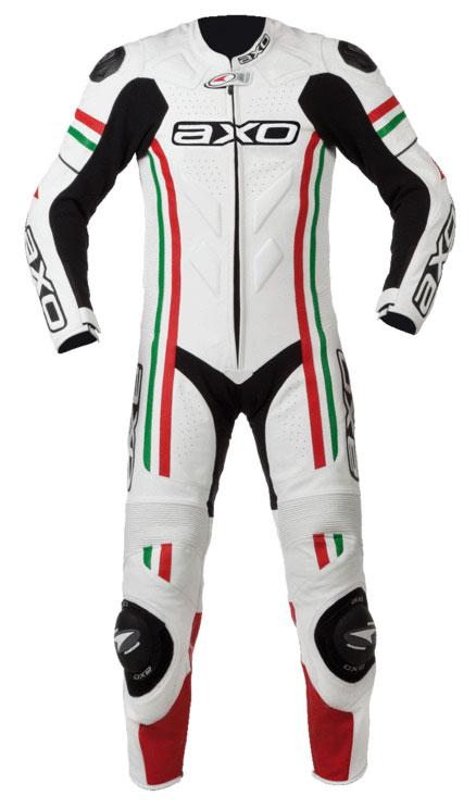 Tuta intera in pelle AXO Indy Italia